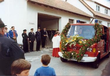 Segnung des damals neuen TSF 1986