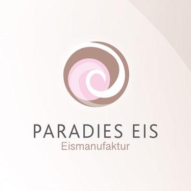 Paradies Eis – Die Hamburger Eismanufaktur, Logodesign