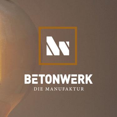 Betonwerk – Die Manufaktur, Logodesign vom Grafikdesigner