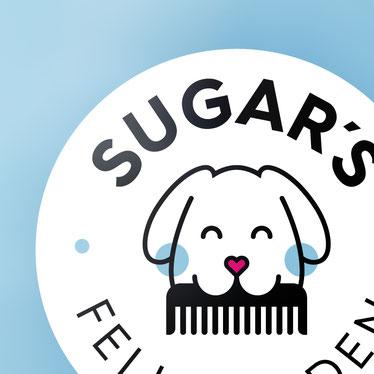 Sugar´s Fellfreuden Logodesign