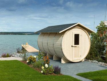 Die Sauna am Hainer See