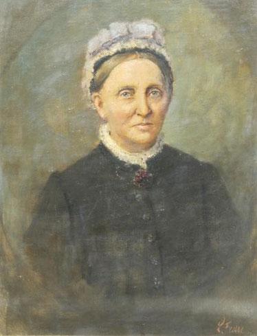Portrait der Caroline Beug, geb. Rodbertus
