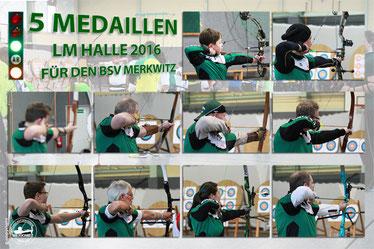 FITA LM WA-HALLE am 23.01.2016 in Bitterfeld-Wolfen