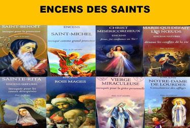 Encens des saints  - Boutique d'encens naturel - Casa bien-être.fr