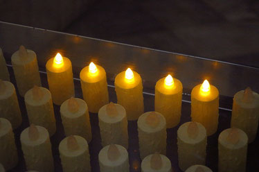 Eine Kerze für Almut