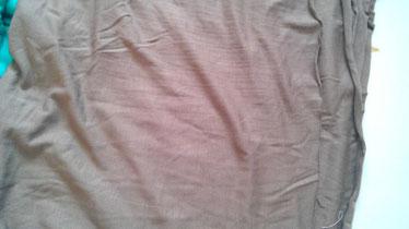Stoffnummer BA07 dünner weicher elastischer Bambusjersey, Ökologisch, Farbe= Taupe