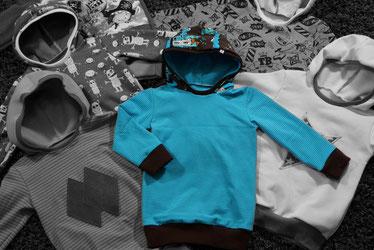 Kindermode Größen und Passformen für Hoodies, Winterrock, Jogginghose und Pumphose