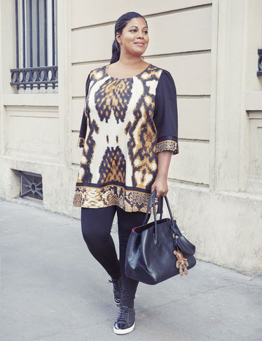 Damenkleid XXL , Kleider in großen Größen für Mollige