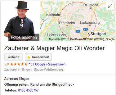 Zauberer in Stammheim, Zauberer in Feuerbach, Zauberer in Zuffenhausen, Zauberer in Weilimdorf, Zauberer Stuttgart, Zauberkünstler, Magier, Magic Oli Wonder ist imer ein Highlight in Feuerbach, Stammheim, Zauberer Weilimdorf und Zuffenhausen