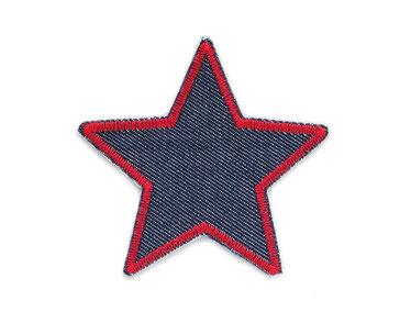 Stern Flicken Jeans, Hosenflicken Stern, Aufnäher zum aufbügeln für Jeans