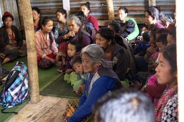 Meeting der Dorfbewohner 2