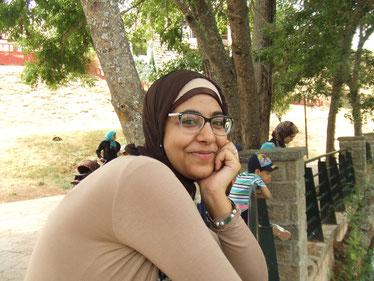 モロッコの事、イスラム文化の女性ならではの考え方などを教えてくれた、私の友達Aさん。