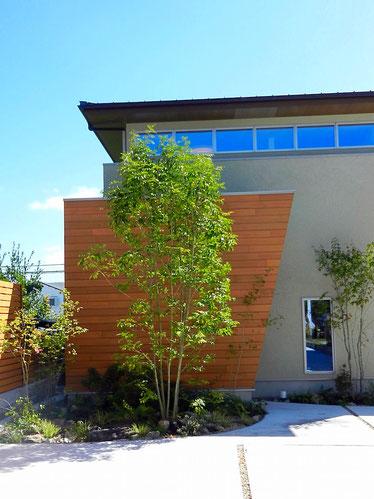 菱和ホーム様 モデルハウス外観 正面