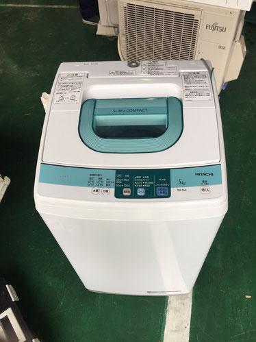HITACHI全自動洗濯機