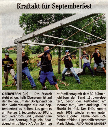 07.09.2008 Schweinfurter Tagblatt