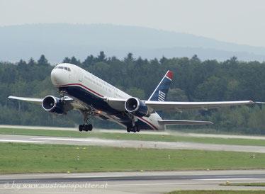 US Airways ***** B 767-201/ER *****N 246AY