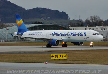Thomas Cook Airlines ***** A 321-211 ***** G-OMYJ