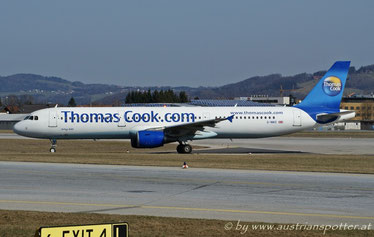 Thomas Cook Airlines ***** A 321-211 *****G-NIKO