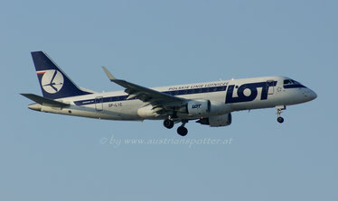 LOT - Polish Airlines ***** Embraer ERJ-170-200LR 175LR *****SP-LIC