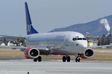 Scandinavian Airlines - SAS *****B 737-405 *****LN-BRE