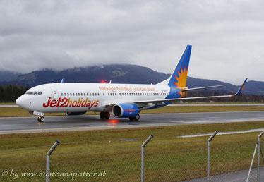 Jet2 Holidays ***** B 737-8K5 *****G-GDFD