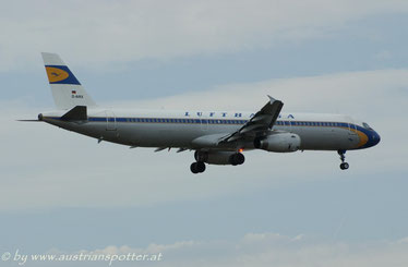 Lufthansa ***** A 321-131 *****D-AIRX