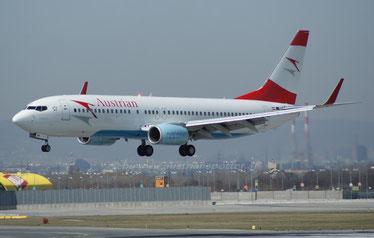 Austrian Airlines ***** B 737-8Z9 *****OE-LNP