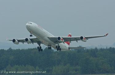 Swiss Int. Air Lines *****A 340-313X *****HB-JMG