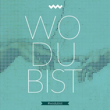 WO DU BIST ~ Coverdesign von Ami Falk