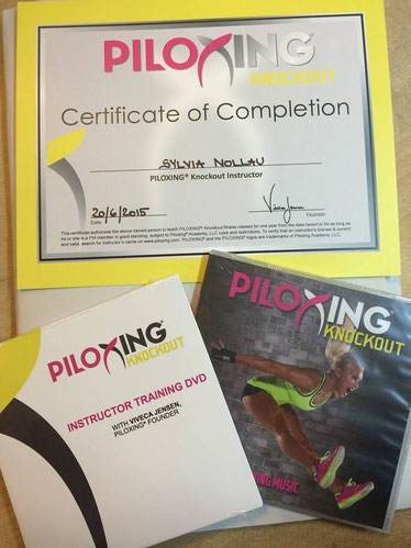 Piloxing® Knockout Instructor-Lizenz in Düsseldorf am 20.06.2015