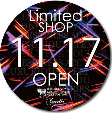 LIMITED SHOP 11/17 OPEN