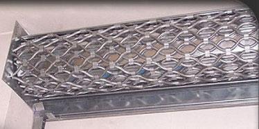 Réparation de grille métallique de magasin