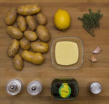 Crispy Roast Potatoes Roasted Potatoes Potatos Knusprige Kartoffeln aus dem Ofen Backofen Rezept selber machen