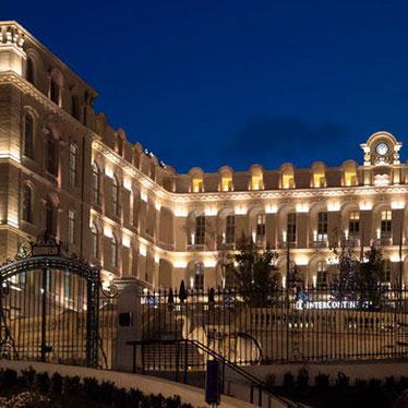 Façade Hotel Dieu Intercontinental / Marseille