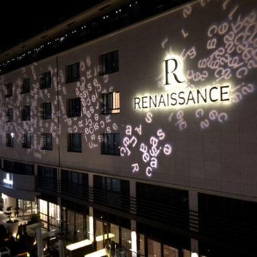 Façade Art Hotel  Renaissance / Aix en Provence