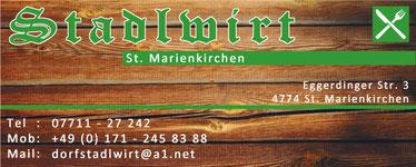 Dorf-Stadl-Wirt, Josef Eichinger, St. Marienkirchen