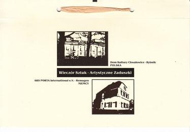 Katalog - Poesie & Fotografie, mit Ars Porta Iinternational / Kulturhaus Rybnik-Chwalowice, Polen 2008