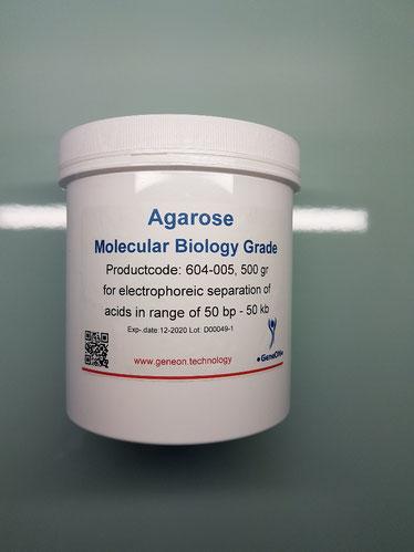 Agarose 500 gr, Agarose 100 gr