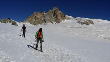 Traversée de la Vallée Blanche - Chamonix - Traverse of the Vallée Blanche