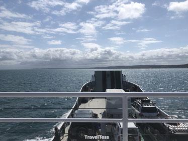 Oversteek naar Fraser Island