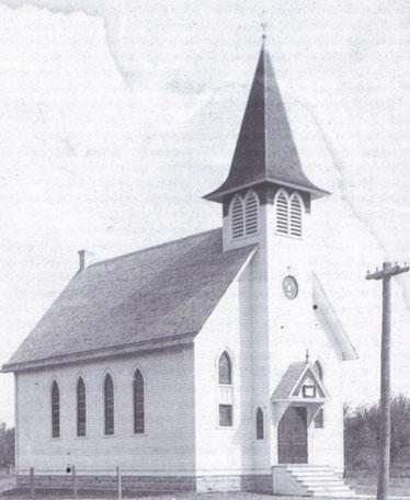 Kirche von Neu Elm (aus Jahrbuch HVG, Heft 84)