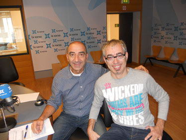 """Col.laborador del programa """"Picó.cat"""", amb el seu cosí Alfred Rodríguez Picó"""