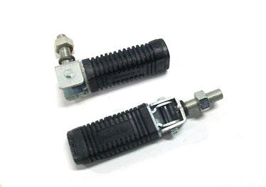 Juego de estriberas cuadradas de metrica 10 x 125 con 23 mm totales de longitud de vastago.