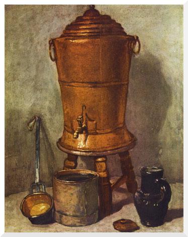 Chardin Wasserfass Barock Rokoko 18. Jahrhundert Jean Simeon