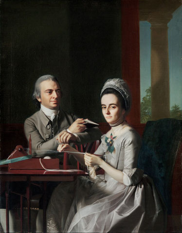 Gemälde von John Singelton Copley - Mr. and Mrs. Thomas Mifflin (1773)