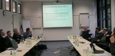 Beratung zur QSV Spezial-Labor mit Mitgliedern der Sektion Niedergelassene Laborärzte