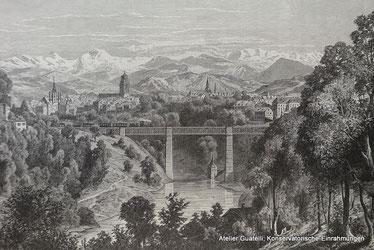 Xylographie von Bern