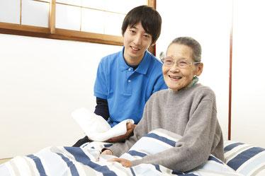 訪問介護の1日をご説明します。写真をクリック