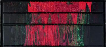 Schüttbild Rot Veronika Matzner