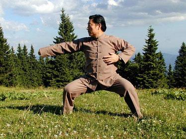 Taijiquan (Tai Chi Chuan) Großmeister Chen Xiaowang